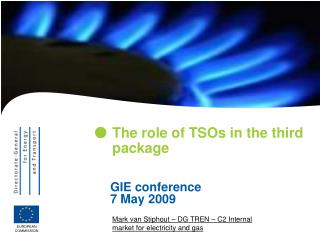 The role of TSOs in the third package