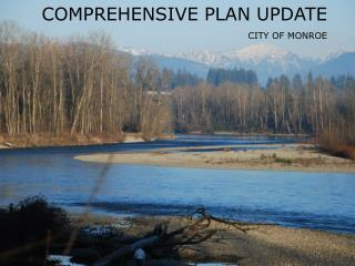 COMPREHENSIVE PLAN UPDATE CITY OF MONROE