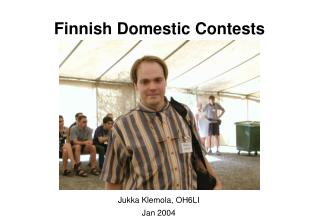 Finnish Domestic Contests