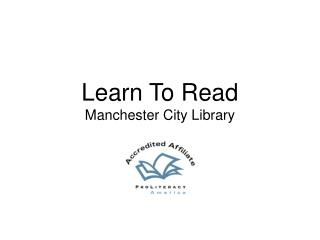 Learn To Read Manchester City Library