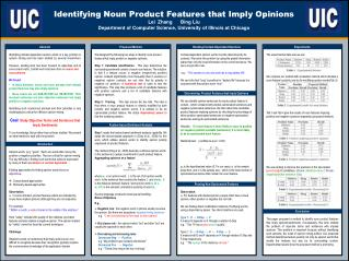 Identifying Noun Product Features that Imply Opinions