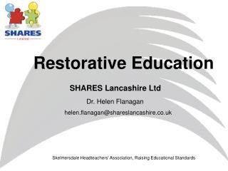 Restorative Education