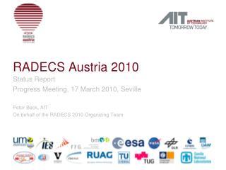 RADECS Austria 2010