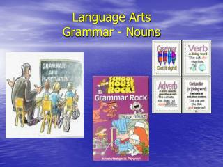 Language Arts Grammar - Nouns