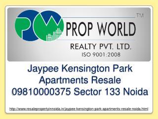 Jaypee Kensington Park Apartments Resale 09810000375 Sector