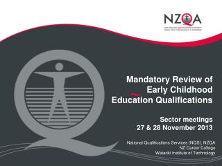 National Qualifications Services (NQS), NZQA NZ Career College Waiariki Institute of Technology