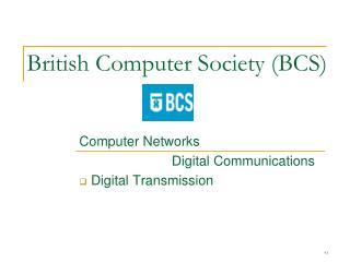 British Computer Society (BCS)
