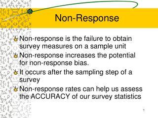 Non-Response