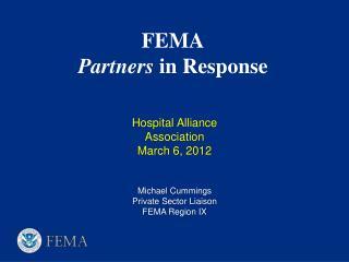 FEMA  Partners  in Response