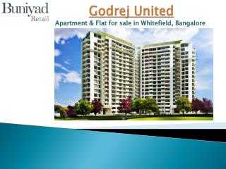 Godrej United Bangalore - A Place where haven falls