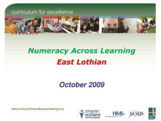 Numeracy Across Learning East Lothian
