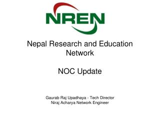 Nepal Research and Education Network NOC Update