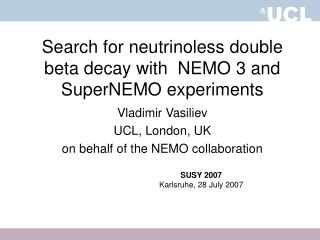 Search for neutrinoless double beta decay with  NEMO 3 and SuperNEMO experiments