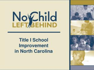 Title I School Improvement  in North Carolina