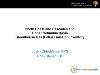 North Coast and Cascades and  Upper Columbia Basin Greenhouse Gas (GHG) Emission Inventory