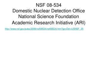 nsf/pubs/2008/nsf08534/nsf08534.htm?govDel=USNSF_25