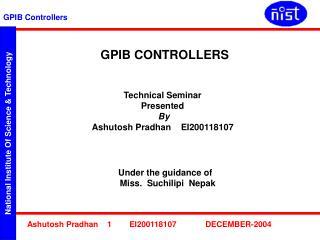 GPIB CONTROLLERS