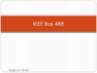 IEEE Bus 488