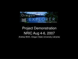 Oregon Explorer