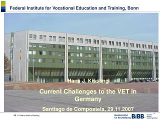 Federal Institute for Vocational Education and Training , Bonn