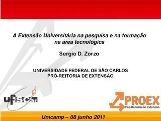 UNIVERSIDADE FEDERAL DE S�O CARLOS PR�-REITORIA DE EXTENS�O