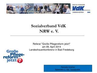 Sozialverband VdK  NRW e. V.