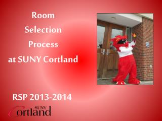 Room  Selection  Process at SUNY Cortland
