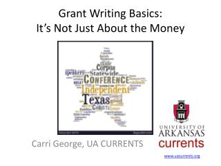 Grant Writing Basics:  It's Not Just About the Money
