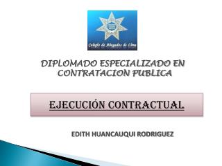 EJECUCI�N CONTRACTUAL