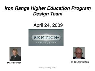 Dr. Joe Sertich