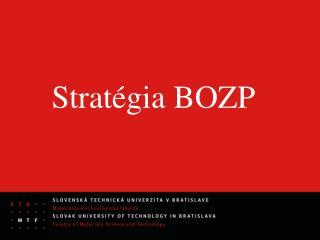 Stratégia BOZP
