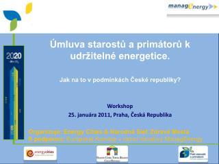 Úmluva starostů a primátorů k udržitelné energetice.  Jak na to v podmínkách České republiky?