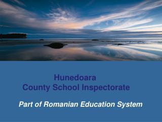 Hunedoara  County School Inspectorate