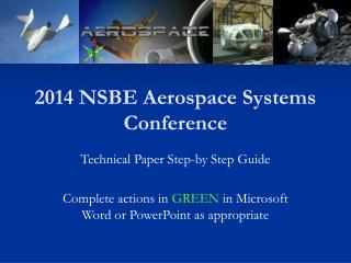 2014 NSBE Aerospace Systems Conference
