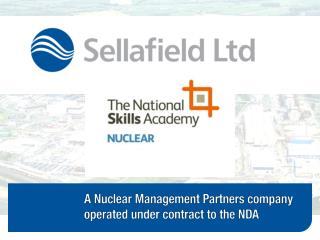 Induction Standard at Sellafield Ltd