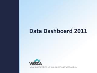 Data Dashboard 2011