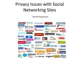Privacy Issues with Social Networking Sites