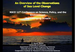 An Overview of the Observations  of Sea Level Change