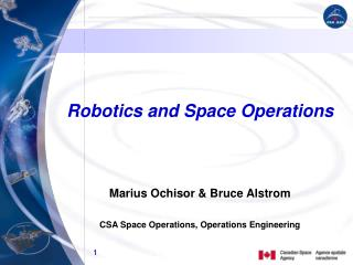 Robotics and Space Operations