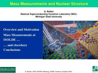 Mass Measurements and Nuclear Structure