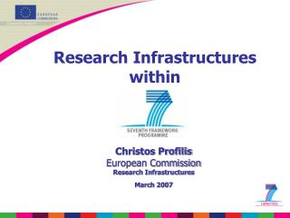 Research Infrastructures within