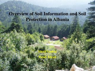 Overview of Soil Information and Soil Protection in Albania