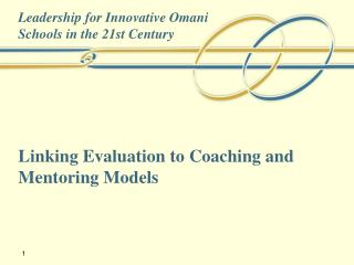 Linking Evaluation to Coaching and Mentoring Models