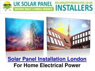 Solar Panel London