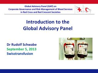 Introduction to the Global Advisory Panel