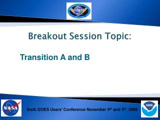 Breakout Session Topic: