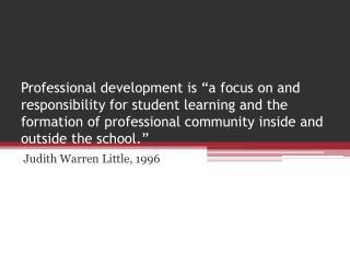 Judith Warren Little, 1996