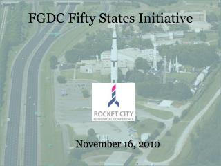 FGDC Fifty States Initiative
