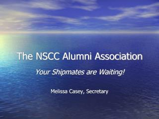 The NSCC Alumni Association