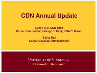 Career Development Network (CDN)